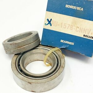 Rear Wheel Bearing and Retainer, RU1578CNNV, A-9, Bower/BCA, for 1969+, NOS