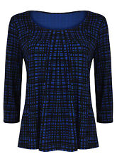 Marks and Spencer Scoop Neck Checked Tops & Shirts for Women