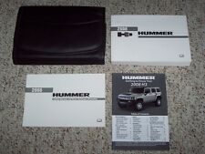 2008 Hummer H3 Factory Owner's Owners User Manual H3X Alpha 3.7L 5.3L V8