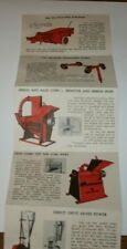 New Holland Equipment Advertising Colorful Foldout Mailer New Holland PA