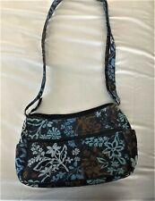 Vera Bradley On the Go Crossbody Handbag in Java Floral,
