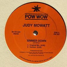 JUDY MOWATT....SIMMER DOWN....POW WOW RECORDS  MAXI 33T
