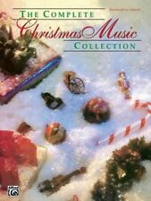 THE COMPLETE CHRISTMAS MUSIC COLLECTION-PIANO/VOCAL/GUITAR CHORDS MUSIC BOOK-NEW