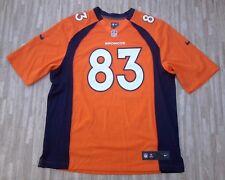 Denver Broncos #83 Wes Welker Nike NFL Football Jersey ~ Men's XL ~ Orange