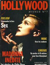 MADONNA French Hollywood Avenue Magazine GIRLIE SHOW POSTER SEX PC
