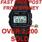 AUSSIE SELER VINTAGE RETRO ORIGINAL CASIO WATCHES F-91W-1 F91 F91W F-91 WARANTY