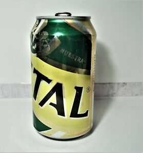 Chile Beer Can Lata Cerveza Cristal 2014 - Open (See description)