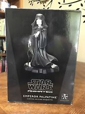 GENTLE GIANT STAR WARS Animated Emperor Palpatine Statue Maquette Limited