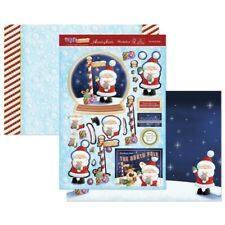 Hunkydory The North Pole Christmas Decoupage Toppers & Card Kit