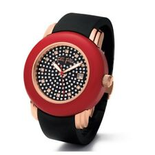Folli Follie Ladies Urban Spin Deluxe Watch With Rubber Strap RARE!!!!