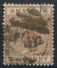 Antigua 1882 QV SG#22, 2.5d Red Brown Wmk CA Used #D1907