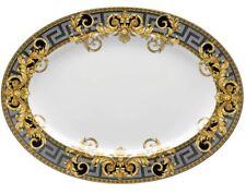 Versace Par Rosenthal Prestige Gala Plateau Ovale #403637-12740 Marque Nib Save