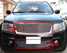 Fits 06-2011 10 09 Suzuki Grand Vitara Billet Grille Combo