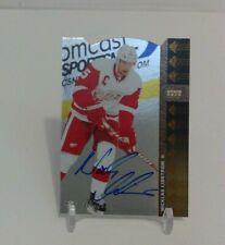 2012-13 SPA Nicklas Lidstrom Die Cut Autographed Card