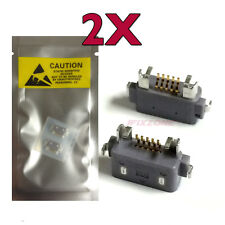 2 X New  Micro USB Charging Sync Port For Sony Xperia V LT25 LT25i USA