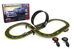 Micro Scalextric Sci-Fi Speedway - G1133 Ex Display Scuffed Packaging