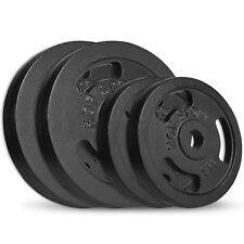 30kg Grip Hantelscheiben 2x5 + 2x10 kg Gusseisen Gewichte 30/31mm Hanteln Set