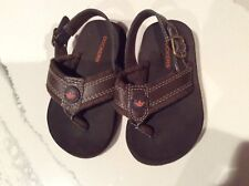 DOCKERS Kids Toddler Brown Sandals Size 8M  US Youth Children's Buckle on Side