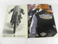 """1999 HARLEY-DAVIDSON """"GENUINE MOTOR ACCESSORIES AND PARTS"""" CATALOGS"""