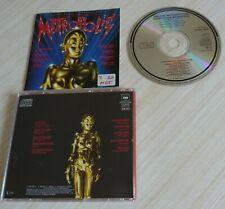 CD ORIGINAL MOTION SOUNDTRACK METROPOLIS GIORGIO MORODER 11 TITRES 1984