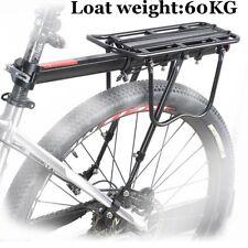 Back Rear Rack Bike Bicycle Seat Post Frame Carrier Holder Cargo Rack 60KG BT