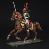 Tin soldier, Officier Dragoon of the Imperial Guard, Napoleonic Wars, 54 mm