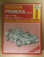 Nissan Primera 1990-1995 Petrol ~ Haynes Owners Workshop Manual #1851