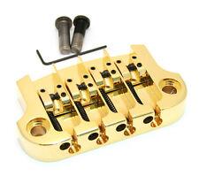 Hipshot Gold SUPERTONE 3-point Bridge for Gibson® Epiphone® Bass 5G400G