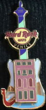 Hard Rock Cafe VENICE 2012 Building GUITAR Channel & Gondola PIN - HRC #67987