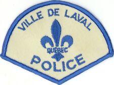 Laval Police, Quebec, Canada HTF Vintage Uniform/Shoulder Patch
