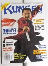 Kung Fu Tai Chi Magazine Jan/Feb 2013 Martial Arts Shaolin