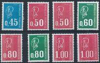 FRANCE 1971-76 Marianne Part Set Mint MNH
