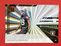 2018 Unparalleled Arden Key Shine Parallel Rookie Card RC Oakland Raiders