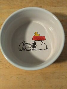 Peanuts® / Gibson® Small Dog Puppy Dish Featuring SNOOPY   NWOB