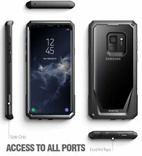 Case For Samsung Galaxy S9 Poetic【Guardian】360 Degree Protection Case Black