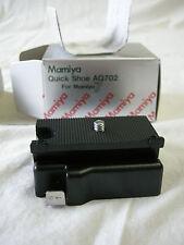 """""""BRAND NEW"""" Mamiya Quick Shoe AQ702 for Mamiya 6, M6MF, M7 & M7II Cameras """"NEW"""""""