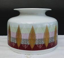 Hutschenreuther Porzellan Vase mit schönem Blätterdesign 60er / 70er Jahre !!!