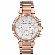 Michael Kors Women's Rose Gold Bracelet Watch MK5491