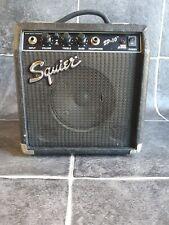 Fender Squier SP-10 Electric Guitar Amplifier Practice Amp Speaker 10W See Photo