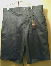 NWT Greg Norman Ebony Gray Mens Size 32 Athletic Performance Golf Shorts