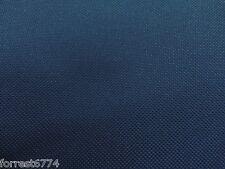 WATERPROOF HEAVY DARK BLUE CANVAS FABRIC  -1000D PU BACK PER MTR