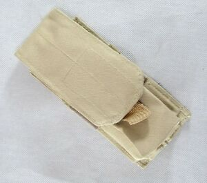 New Molle Single Pouch Desert Tan--Airsoft