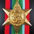 RARE ORIGINAL WW2 AUSTRALIAN BRITISH PACIFIC STAR CAMPAIGN MEDAL
