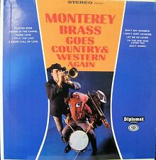 MONTEREY BRASS GOES COUNTRY & WESTERN AGAIN LP 196?  STEREO NM!!