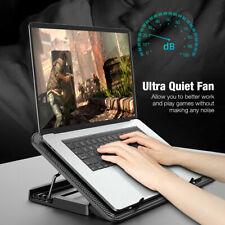 More details for 6 powerful fan quiet tilt cooler mat stand laptop radiator stand usb interface