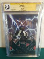 Venom 1 variant cgc signed and sketched by Ryan Stegman & signed by Donny Cates