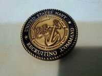United States USN Navy Recruiting Command Chief Challenge Coin Ask The Chief