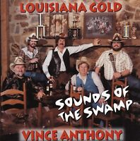 """VINCE ANTHONY - NEW CD """"SOUNDS OF THE SWAMP """" 21 Louisiana Swamp Pop"""