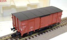 Fleischmann h0 5350 graduarme. vagones Ferrocarriles Federales Alemanes, marrón