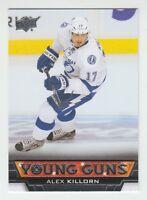 (56699) 2013-14 UPPER DECK YOUNG GUNS ALEX KILLORN #223 RC